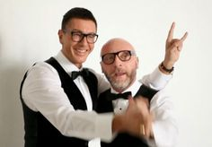 We love Domenico Dolce & Stefano Gabana in their black nerd glasses. So fashion!  -   Lookmatic's trendy, fully-customizable and sensibly priced eyewear lets you look your best and inspires you to do more good. Now that's #LookmaticGOOD