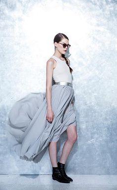 Schella Kann Kollektion F/S 2014 Foto Inge Prader Midi Skirt, Skirts, Fashion, Pictures, Moda, Midi Skirts, Fashion Styles, Skirt