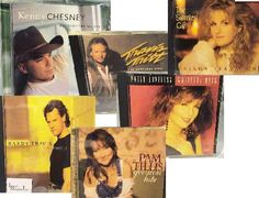 Vintage Country Classics Music CD Selection - 6 CD Lot