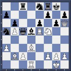 Les Blancs jouent et matent en 4 coups.