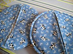 ..and Sew On: How to make my Pot Holders
