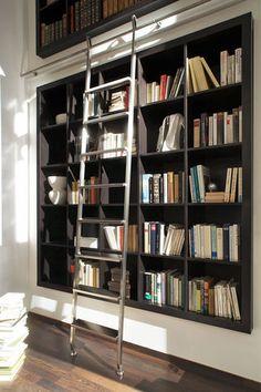 Échelle de bibliothèque SL.6001.AK AKZENT LINE MWE Edelstahlmanufaktur