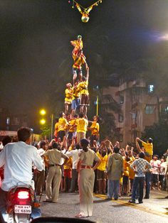 Dahi Handi in India