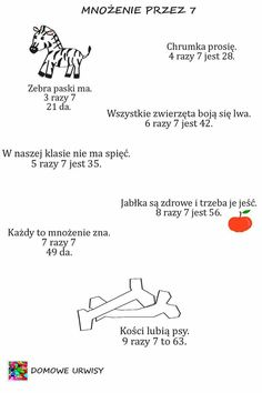 Polish Language, Languages Online, Dyslexia, Multiplication, Asd, Kids And Parenting, Infographic, Homeschool, Education