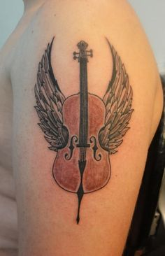 Cello – Tattoo Picture at CheckoutMyInk.com