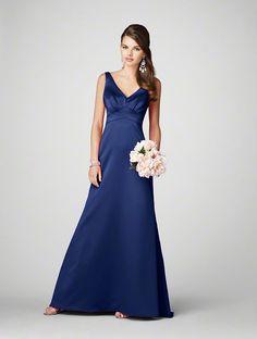Alfred Angelo... Navy Bridesmaid Dress