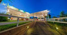 Vezalis Beach Bar & Restaurant in Laganas area of Zakynthos island in Greece.