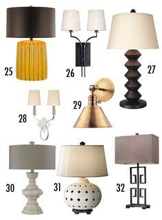 Lamps + Lighting