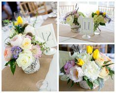 Birch Wedding Vase