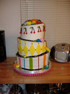 Mary Engelbreit inspired cake