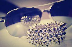 Wide Rivets Bracelet, would you rock it?