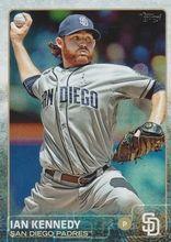 2015 Topps Baseball Rainbow #76 Ian Kennedy - San Diego Padres
