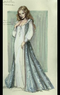 roxanne6 Theatre Costumes, Movie Costumes, Fashion Illustration Sketches, Fashion Sketches, Illustrations, Historical Costume, Historical Clothing, Costume Design Sketch, Vintage Outfits