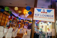 Sebastian's Airplane Themed Party – 1st Birthday - Party Doll Manila