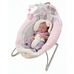"""Fisher-Price My Little Sweetie Deluxe Bouncer - Fisher-Price - Babies """"R"""" Us"""