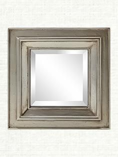"Elodie 18"" square mirror | Arhaus"