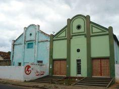 Old warehouses, Araçatuba, Brazil.