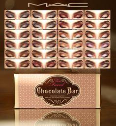 Chocolate Bar palette at MAC Cosimetics via Sims 4 Updates