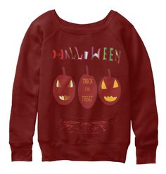 Halloween Limited Edition Dark Red Triblend T-Shirt Front