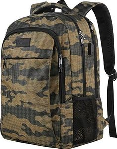 b78a1571d07e Camo Backpack Camouflage Outdoor Travel Laptop Backpack for Travel  Accessories #fashion #clothing #shoes