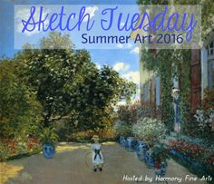 Sketch Tuesday Plans – Summer 2016 We will be following a modified Sketch Tuesday plan for the months of June, July, and August. You can see that it follows no pattern whatsoever but it will fit my summer comings and goings and wi-fi capabilities. I invite you to participate as much as possible (especially those …