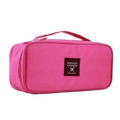 Women Travel Toiletries Bra Underwear Storage Bag | Travel Toiletries,  Products And Storage