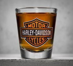 Harley-Davidson - Bar & Shield Logo Shot Glass