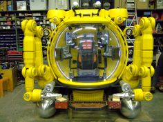 Underwater Submersible for BBC Drama 'The Deep'