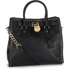 MICHAEL Michael Kors Hamilton Whip Tote Bag ($298) ❤ liked on Polyvore