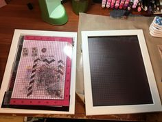 DIY Misti stamp tool from IKEA frame
