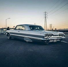 Impala 1963 Chevy Impala, 64 Impala, Chevrolet Chevelle, Us Cars, Sport Cars, Chicano, Old School Cars, Classy Cars, Hot Rides