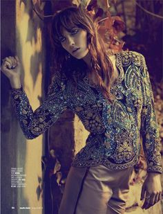 waiting for sunrise: charissa du plessis by richard keppel-smith for marie claire south africa august 2012