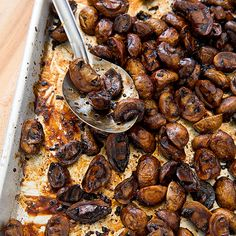 Roasted Balsamic-Glazed Mushrooms - Cook's Country