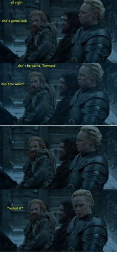 The time Tormund was all of us around our crushes: