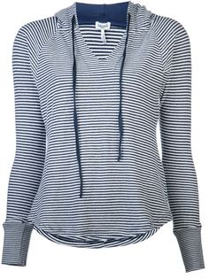 $123 SPLENDID Striped Hoodie - Lyst