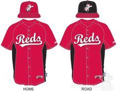 Cincinnati Reds BP Uniforms 2013
