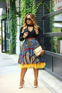 Looking for the best kitenge designs in Africa? See images of kitenge dresses and skirts, African outfits for couples, men's and baby boy ankara styles. African Fashion Skirts, African Fashion Designers, African Print Fashion, Africa Fashion, Modern African Fashion, African Print Skirt, African Print Dresses, African Dress, African Attire