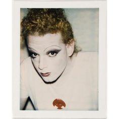 Jackie Curtis by Andy Warhol.