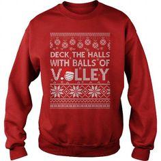 VOLLEYBALL CHRISTMAS SHIRT