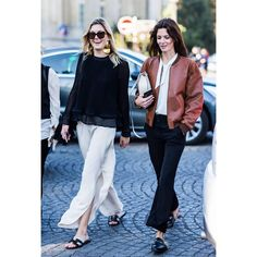 Get the latest and greatest celebrity style, runway trends, and shopping suggestions from the fashion and beauty experts at WhoWhatWear! Girl Fashion, Fashion Outfits, Womens Fashion, Fashion Trends, Winter Outfits, Casual Outfits, Hermes Shoes, Hermes Handbags, Backless Loafers