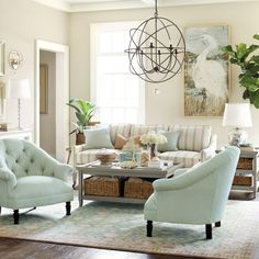 I'll take 2 of those chairs and the orb chandelier, please!