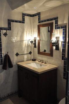 Mediterranean Style Design Ideas, Pictures, Remodel, and Decor - page 13 Mediterranean Style, Best Bathroom Designs, Master Bath Remodel, Amazing Bathrooms, Bathroom Storage, Modern Farmhouse, House Design, Interior