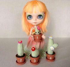Cactus miniature for Blythe