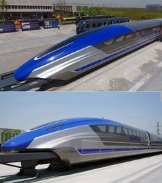 China's new magnetic levitation train prototype can hit 373 mph. Engineering Technology, Cool Technology, Magnetic Levitation, High Speed Rail, Speed Training, Rolling Stock, Locomotive, Beijing, Railroad Tracks