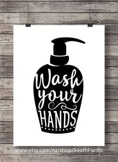 Wash your hands | Bathroom Printable art | kitchen hygiene Printable wall art | kids childrens Modern farmhouse Bathroom Sign, Bathroom Art, Bathroom Rules Buy 2 get 1 free coupon code: FREEBIE MADE WITH LOVE ♥ 16x20 print, easily reduced to 8x10 ____________________________ Print