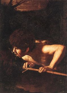 Michelangelo Merisi da Caravaggio - St John the Baptist at the Well