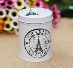 Creative Japanese Zakka sealed tank tin carry Mini Tea Canister candy jar storage tank,Tea can,Tea box