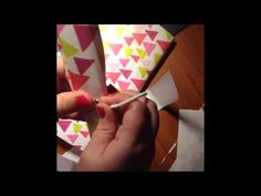 Making a Happy Planner cover from a Target One Spot accordion file folder - EASY DIY - YouTube