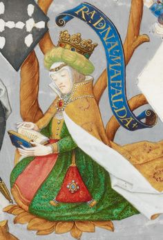 Mafalda of Savoy (1125-1158), first queen consort of Portugal.