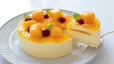bánh xoài No-Bake Mango Mousse Cake|HidaMari Cooking Mango Recipes Baking, Gelatin Recipes, Mango Mousse Cake, Mango Cake, Bakery Recipes, Dessert Recipes, Mousse Pie Recipe, Moose Cake, Nake Cake